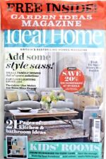 IDEAL HOME MAGAZINE MAY 2018 WITH FREE GARDEN IDEAS MAGAZINE ~ NEW ~