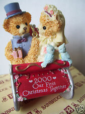 """Bainbridge Bears Amy & Andrew 2000 """"Our First Christmas Together"""" Sleigh Ride"""