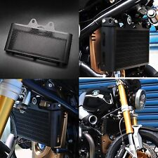 BMW R Nine t R9T Oil Cooler Guard Cover 2014+ R NineT Black Stainless