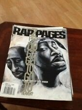 Rap Pages Magazine -TUPAC Do G's Go To Heaven  - DECEMBER 1996 - RARE!!