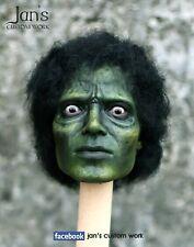 1/6 CUSTOM Michael Jackson zombie thriller Hot toys figure head sculpt mj DX