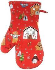 2 Ulster Weavers Nussknacker Weihnachten Rot Grün Küche Ofen Handschuh Stulpe