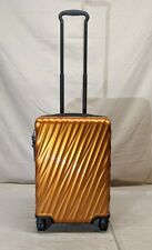 NEW TUMI 19 DEGREE SUN KISSED ORANGE 4 WHEEL SPINNER INT'L CARRY-ON STYLE 228660