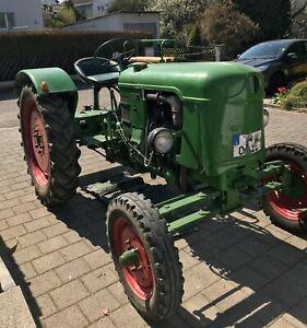 deutz traktor schlepper gebraucht guter Zustand Bj. 1957