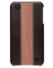 Coque Trexta en bois et cuir pour iPhone 4_2
