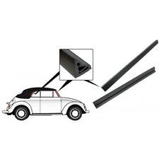 VW MAGGIOLINO BEETLE MAGGIOLONE CABRIO GUARNIZIONI CAPOTE SEAL DOOR WINDOW