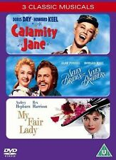 Calamity Jane/Seven Brides For Seven Brothers/My Fair Lady (DVD, 2006, 3-Disc...