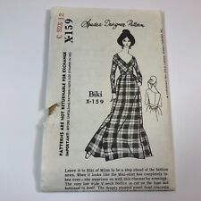 Spadea X-159 Biki of Milan Vintage Evening Dress Uncut Sewing Pattern Size 12