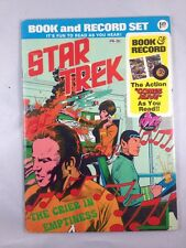 STAR TREK Book and Record The Crier in Emptiness Power Records 1975
