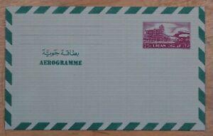 Mayfairstamps Lebanon 25p Mint Stationery Aerogramme wwp67
