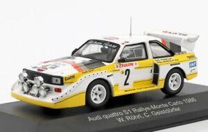 1:43 Scale CMR Replicars Audi Quattro S1 Rally Car - Walter Rohrl 1986 Model