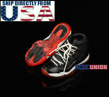 """1/6 Men Shoes Sports Sneakers Hollow For 12"""" Hot Toys PHICEN Male Figure USA"""