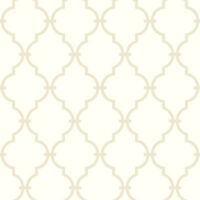 York Wallcoverings AB2042 Modern Trellis White Wallpaper Free Shipping