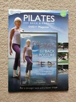 Pilates For Back And Posture DVD & Magazine Brand  New