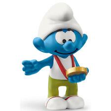 Schleich Smurfs Smurf Figure with Medal