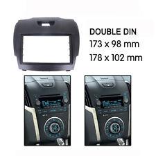 For Holden Colorado RG radio DOUBLE 2 DIN facia Fascia Dash Panel trim plate AU
