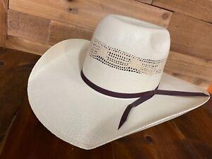Resistol Men's hat Rampage Western Straw Cowboy Hat RSRMPG-83428171