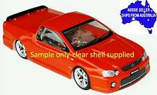 1:10 RC Clear Lexan Body Shell Ford FPV Ute Pick Up 200mm Nitro or Electric Colt