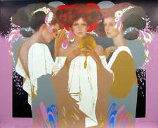 """""""GOLD MIRROR"""" FELIX MAS SIGNED LIMITED EDITION PRINT INVENTORY REDUCTION PRICING"""