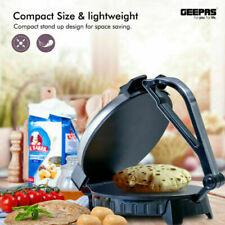 """10"""" Electric Chapati Maker Flat Bread Naan Tortilla Roti Press Machine"""