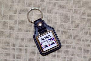Morris Van Keyring - Minor / 1000 - Leatherette & Chrome Keyfob