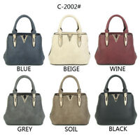Women's Designer Made Faux Leather Mini Tote Bag Handbag Shoulder Bag