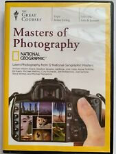The Great Courses Masters of Photography 4 Disc DVD Set - DVDs ONLY