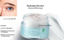 ORIFLAME OPTIMALS HYDRA SEEING IS BELIEVING eye cream dark circles puffiness