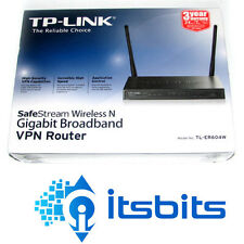TP-LINK TL-ER604W LOAD BALANCED WIRELESS N  + 4 PORT GIGABIT BROADBAND ROUTE
