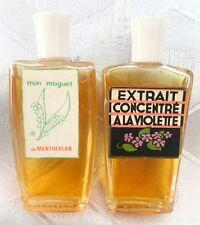 Vintage Extrait Concentre a la Violette & Mon Muguet de Montherlan Perfumes