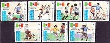 kompletter Satz Fussballweltmeisterschaft in Mexico 1986 Soccer football футбол