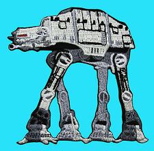STAR WARS - Imperial Walker ATAT Empire Strikes Back Embroidered - Iron On Patch