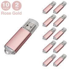 10PCS 2GB USB 2.0 Flash Pen Drive Thumb Drives Flash Memory Stick Thumb Storage
