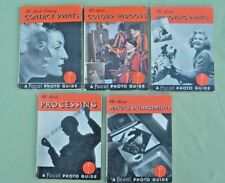 "5 x 1950's Vintage All About Photography Booklets ""The Photo Guides"""