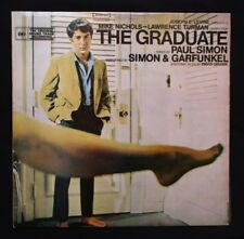 THE GRADUATE 1967 Orig movie soundtrack vinyl LP Dustin Hoffman Anne Bancroft