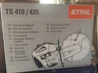"STIHL TS 420 Cutquik 14"" Professional 66.7 cc Gas Powered Concrete Saw w/ BLADE"