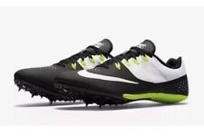 Nike Zoom Rival S 8 Men Track Field Sprint Shoes Black White 806554 010 Size 6