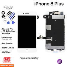 for iPhone 6 Plus White Touch Screen LCD Display Digitizer Assembly Replacement
