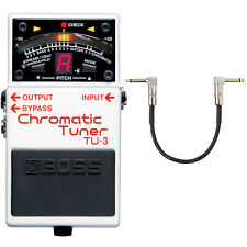 Boss TU-3 Chromatic Tuner + Patchkabel 30cm