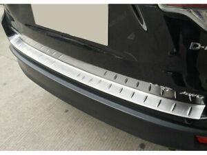 Steel Rear Trunk Outer Bumper Skid Protector for Toyota Highlander 2015 - 2018