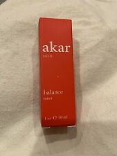 ❤️❤️ BNIB AKAR Skin Balance Toner Travel Size 1 oz/30ml Rose Orange Blossom ❤️❤️