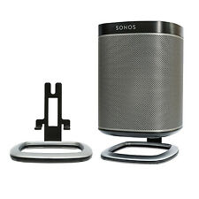 Genuine FLEXSON flxp1ds2021 da tavolo stand staffa per Sonos Play: 1 Paio Nero