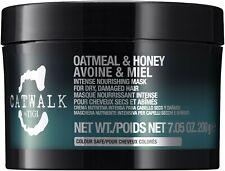 NEW! TIGI CATWALK INTENSE OATMEAL & HONEY NOURISHING MASK 7.05 OZ HAIR TREATMENT