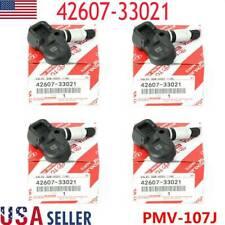 4X Genuine Tire Pressure Sensor Tpms 42607-33021 Pmv-107J For Scion Toyota Lexus (Fits: Scion)