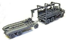 Milicast Uk297Rt 1/76 Resin Wwii Austin K6 3T 6x4 Recovery Truck+Coles Trailer