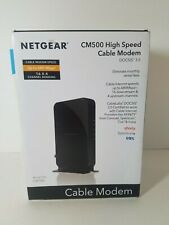 NETGEAR CM500-1AZNAS 16x4 DOCSIS 3.0 Cable Modem Max Download Speeds of 680Mbps