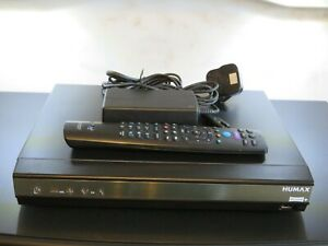 Humax HDR-2000T Freeview HD Recorder Set Top Box PVR 500GB Twin Tuner + Remote