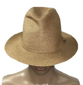 Borsalino Men's Brown Fedora Hat Italy Size - 59 (7 3/8 US)