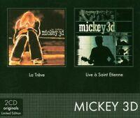 Mickey 3D - La Trêve/Live a Saint Etienne (2004) 2CD Limited Edition  NEW