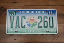 """American license plate Florida """"Agriculture"""" # VAC 260"""